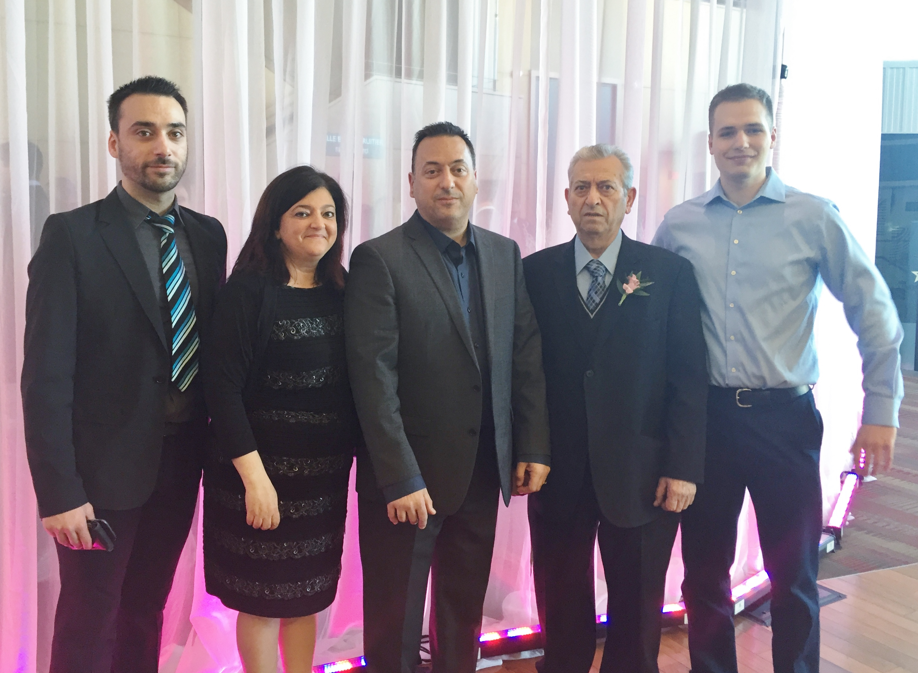 CCIRS Awards Gala 2016 - CV Plastics Team